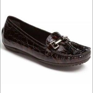 Stuart Weitzman Rascal Crocodile Loafers 6